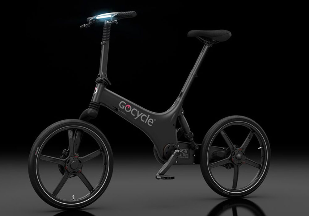 Gocycle side view