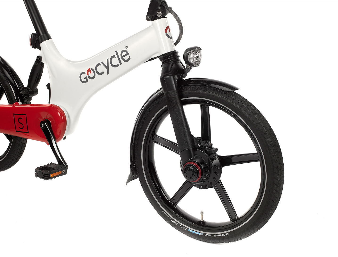 Gocycle white