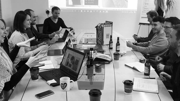 Team brainstorm