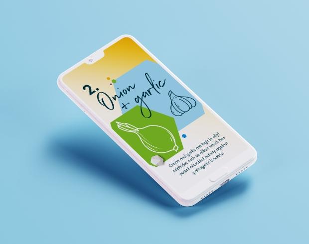 Synorive brand blueprint on mobile
