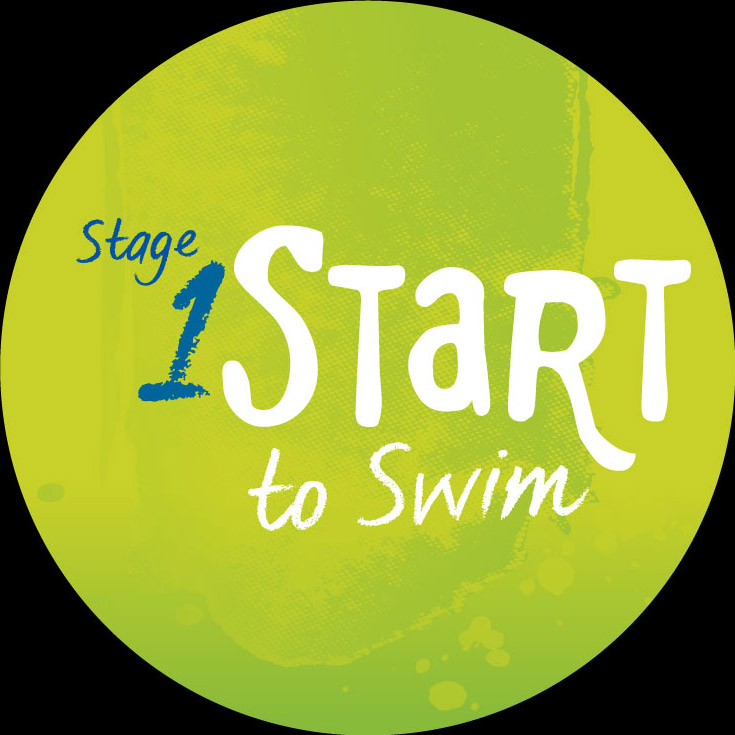 swimming illustration stage 1 start to swim